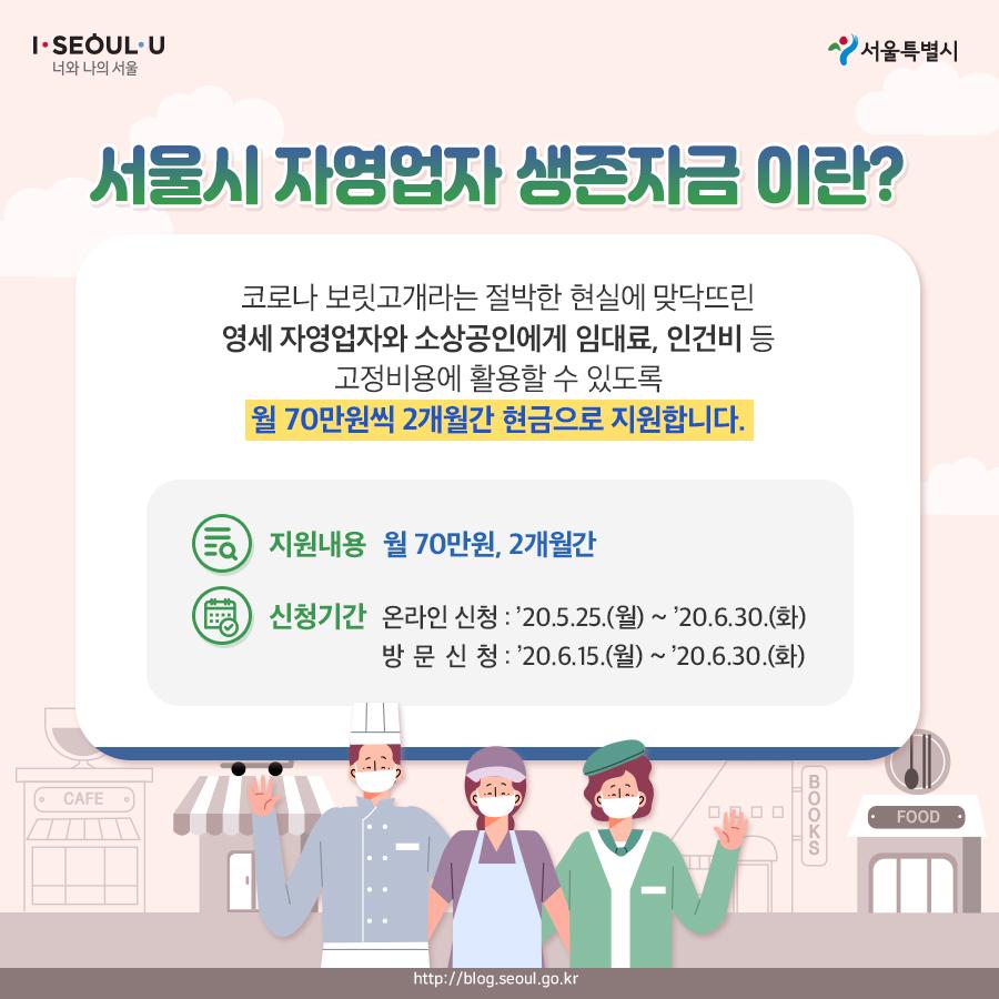 서울시_카드뉴스_자영업자생존자금02_200518