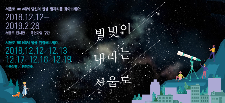 별빛이 내리는 서울로