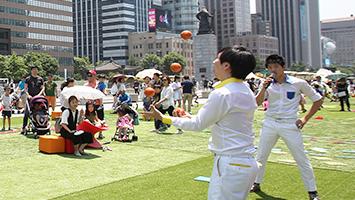 서울시, 5월'세종대로 차 없는 거리'에 가족단위 볼거리·체험풍성