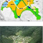 조감도 및 토지이용계획도