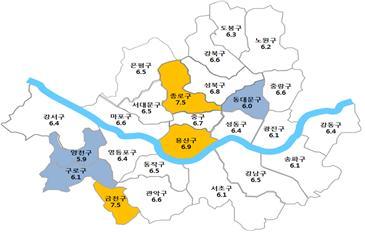 `15년 3분기 주택 전월세전환율 6.4%