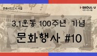 3.1운동 100주년기념 문화행사 배너(시홈피)