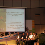 'AZEC 2011' 주제발표 모습 (대만 자이언트 펜더 보존센터)