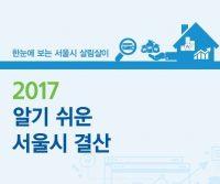 2017알기쉬운 서울시 결산