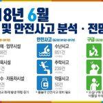 2018년 6월 재난 및 안전사고 분석, 전망